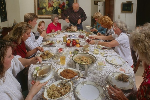 Family Thanksgiving.